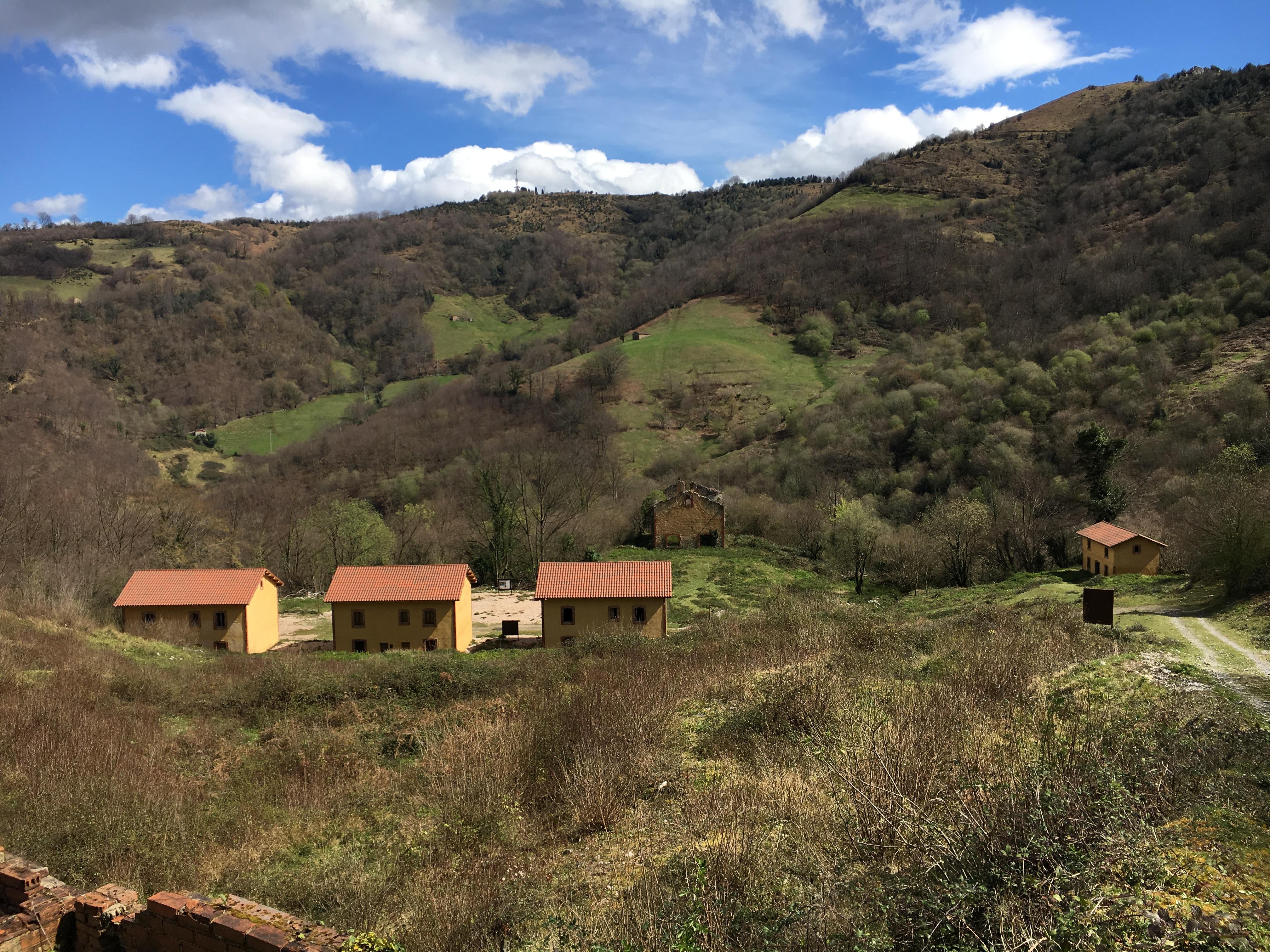 Coluvión de Llamo: Minas de cobre y cobalto de Rioseco