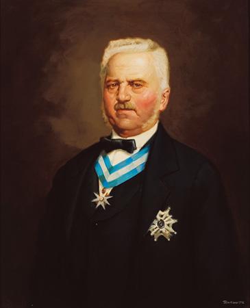 Retrato de Guillermo Schulz, actulamente en el I.G.M.E. (Madrid)