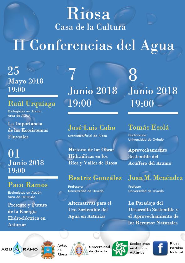 II Conferencias del Agua de Riosa (2018)